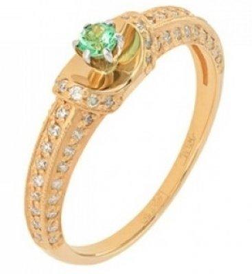 Золоті каблучки з смарагдом - купити на Gold.ua   ціна від 3983 грн ... 7a14e2246153e